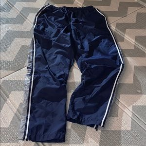 3/$27 Adidas quick drying track pants